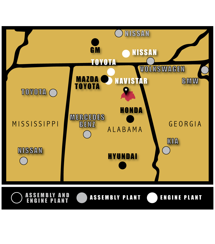 Alabama Etowa Country